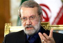 تصویر از لاریجانی: آمریکا به ایران حمله کند، ویلچری میشود/ روابط ایران و روسیه راهبردی است