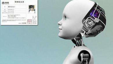 تصویر از هوش مصنوعی شیبویا میرای در توکیو