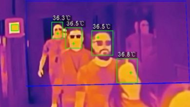 تصویر از استفاده از هوش مصنوعی برای تشخیص چهره افراد از پشت دیوار