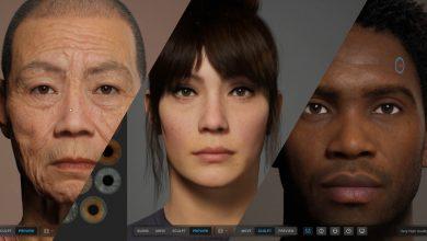 تصویر از ساخت انسانها واقع گرایانه بواسطه ابزار MetaHuman Creator اپیک گیمز
