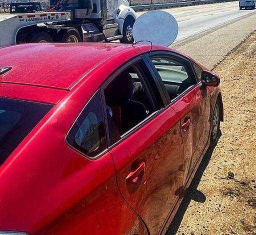جریمه شدن رانندهای بهدلیل نصب دیش ماهواره استارلینک روی کاپوت خودرو